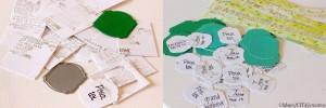 Dies Étiquettes DCUL 003