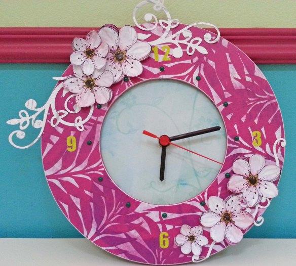horloge flamingo